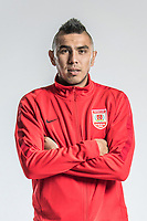 **EXCLUSIVE**Portrait of Uzbek soccer player Anzur Ismailov of Changchun Yatai F.C. for the 2018 Chinese Football Association Super League, in Wuhan city, central China's Hubei province, 22 February 2018.