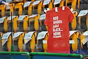 DESCRIZIONE : Beko Legabasket Serie A 2015- 2016 Dinamo Banco di Sardegna Sassari - Olimpia EA7 Emporio Armani Milano<br /> GIOCATORE : RED SHOES ARE BACK<br /> CATEGORIA : Ritratto Before Pregame<br /> SQUADRA : Olimpia EA7 Emporio Armani Milano<br /> EVENTO : Beko Legabasket Serie A 2015-2016<br /> GARA : Dinamo Banco di Sardegna Sassari - Olimpia EA7 Emporio Armani Milano<br /> DATA : 04/05/2016<br /> SPORT : Pallacanestro <br /> AUTORE : Agenzia Ciamillo-Castoria/C.AtzoriCastoria/C.Atzori
