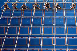 August 9, 2018 - Berlin, GERMANY - 180809 Nadine Visser of the Netherlands, Alina Talay of Belarus, Pamela Dutkiewicz of Germany, Cindy Roleder of Germany, Solene Ndama of France, Elvira Herman of Belarus and Karolina Koleczek of Poland compete in the women's 100 meter hurdles final during the European Athletics Championships on August 9, 2018 in Berlin..Photo: Vegard Wivestad GrÂ¿tt / BILDBYRN / kod VG / 170199 (Credit Image: © Vegard Wivestad Gr¯Tt/Bildbyran via ZUMA Press)