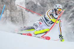 Sebastian Holzmann (GER) during 1st run of Men's Slalom race of FIS Alpine Ski World Cup 57th Vitranc Cup 2018, on March 4, 2018 in Kranjska Gora, Slovenia. Photo by Ziga Zupan / Sportida