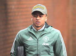 Jesse Lingard of Manchester United arrives at Turf Moor ahead of the match  - Mandatory by-line: Jack Phillips/JMP - 20/01/2018 - FOOTBALL - Turf Moor - Burnley, England - Burnley v Manchester United - English Premier League