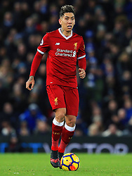 Roberto Firmino of Liverpool - Mandatory by-line: Matt McNulty/JMP - 30/12/2017 - FOOTBALL - Anfield - Liverpool, England - Liverpool v Leicester City - Premier League