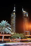 Dubai, UAE, Feb 07, 2010, Emirates towers. PHOTO © christophe Vander Eecken