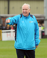 Football - 2018 / 2019 FA Cup - Third Round: Woking vs. Watford<br /> <br /> Sky Sports commentator and Woking coach, Martin Tyler, at Kingfield Stadium.<br /> <br /> COLORSPORT/ANDREW COWIE