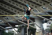 Renaud Lavillenie (FRA) competes in Men's Pole Vault during the Meeting de Paris 2018, Diamond League, at Charlety Stadium, in Paris, France, on June 30, 2018 - Photo Jean-Marie Hervio / KMSP / ProSportsImages / DPPI