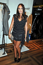 TAMARA ECCLESTONE at a party hosted by Petra Ecclestone at Matches, 87 Marylebone High Street, London on 7th September 2009.