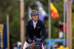 Hendrickx Dominique, BEL, Vintadge de la Roque<br /> Belgisch Kampioenschap Jumping  <br /> Lanaken 2020<br /> © Hippo Foto - Dirk Caremans<br /> 03/09/2020