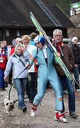 Robert Kranjec of Slovenia at e.on Ruhrgas FIS World Cup Ski Jumping on K215 ski flying hill, on March 14, 2008 in Planica, Slovenia . (Photo by Vid Ponikvar / Sportal Images)./ Sportida)