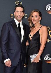 David Schwimmer attends the 68th Annual Primetime Emmy Awards at Microsoft Theater on September 18, 2016 in Los Angeles, California. Photo by Lionel Hahn/ABACAPRESS.COM