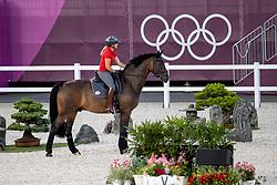 Schneider Dorothee, GER, Showtime<br /> Olympic Games Tokyo 2021<br /> © Hippo Foto - Dirk Caremans<br /> 21/07/2021