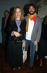 BAY GARNETT and TOM CRAIG at a party to celebrate the publication of 'The year of Eating Dangerously' by Tom Parker Bowles held at Kensington Place, 201 Kensington Church Street, London on 12th october 2006.<br /><br />NON EXCLUSIVE - WORLD RIGHTS
