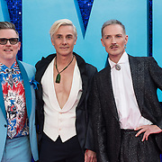 Tom McRae, Jonathan Butterell and Dan Gillespie Sells attended 'Everybody's Talking About Jamie' film premiere at Royal Festival Hall, London, UK. 13 September 2021