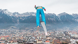 02.01.2016, Bergisel Schanze, Innsbruck, AUT, FIS Weltcup Ski Sprung, Vierschanzentournee, Training, im Bild Vincent Descombes Sevoie (FRA) // Vincent Descombes Sevoie of France during his Practice Jump for the Four Hills Tournament of FIS Ski Jumping World Cup at the Bergisel Schanze, Innsbruck, Austria on 2016/01/02. EXPA Pictures © 2016, PhotoCredit: EXPA/ JFK