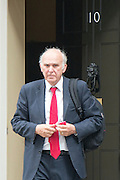 © Licensed to London News Pictures. 08/07/2014. Westminster, UK Dr Vincent Cable,  Liberal Democrat MP, State for Defence State for Business, Innovation and Skills, <br /> ,  leaving Downing Street today 8th July 2014 after the weekly cabinet meeting. Photo credit : Stephen Simpson/LNP