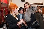 JUDITH WATT; JAMES BROWN; SARAH MURRAY, Judith Watt's Dogs in Vogue BOOK LAUNCH. James Purdey and Sons. 57-58 S. Audley St. London.