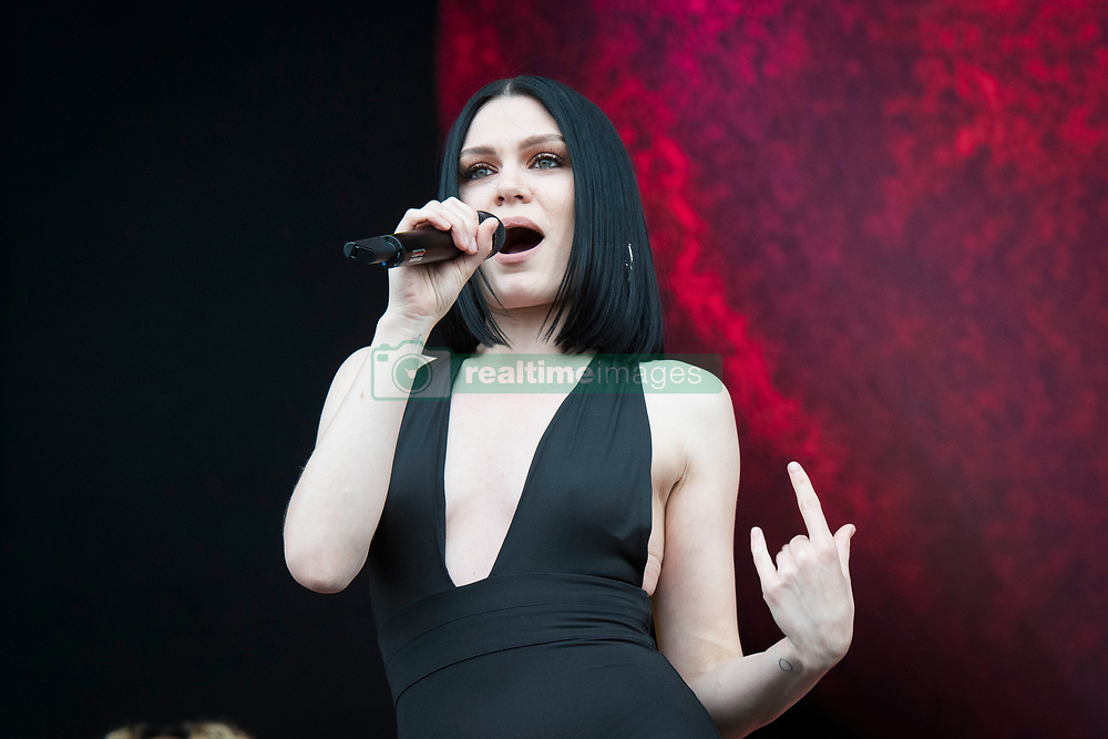 Jessie J performs on stage at the Isle of Wight festival at Seaclose Park, Newport. Picture date: Saturday 23rd June, 2018. Photo credit should read: David Jensen/EMPICS Entertainment