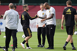 September 4, 2018 - Tubize, Belgique - Thierry Henry ass. coach of Belgian Team and Dries Mertens forward of Belgium (Credit Image: © Panoramic via ZUMA Press)