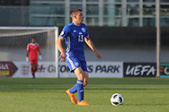 Osher Davida of Israel (13) during the UEFA European Under 17 Championship 2018 match between Israel and Italy at St George's Park National Football Centre, Burton-Upon-Trent, United Kingdom on 10 May 2018. Picture by Mick Haynes.