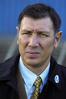 Photo: Andrew Unwin.<br />Northern Ireland v Wales. World Cup Qualifier.<br />08/10/2005.<br />Northern Ireland's Lawrie Sanchez.