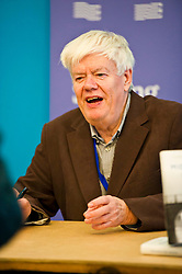 Pictured: Bernard MacLaverty, Author of Midwinter Break<br /> Book fanatics headed to Charlotte Square in Edinburgh which is the hub of the international Book Festival to meet the authors and also to meet up with fellow fans of the printed word.<br /> <br /> <br /> Ger Harley | EEm 16 August 2017