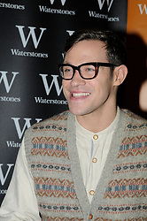"© Licensed to London News Pictures. 19/10/2012.Singer Will Young at Waterstones book store in the  Bluewater shopping complex in Kent (today 19/10/2012) to sign copies of his new book  ""Funny Peculiar "" The autobiography..Photo credit : Grant Falvey/LNP"