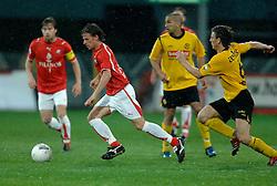 09-05-2007 VOETBAL: PLAY OFF: UTRECHT - RODA: UTRECHT<br /> In de play-off-confrontatie tussen FC Utrecht en Roda JC om een plek in de UEFA Cup is nog niets beslist. De eerste wedstrijd tussen beide in Utrecht eindigde in 0-0 / Tom Caluwe<br /> ©2007-WWW.FOTOHOOGENDOORN.NL