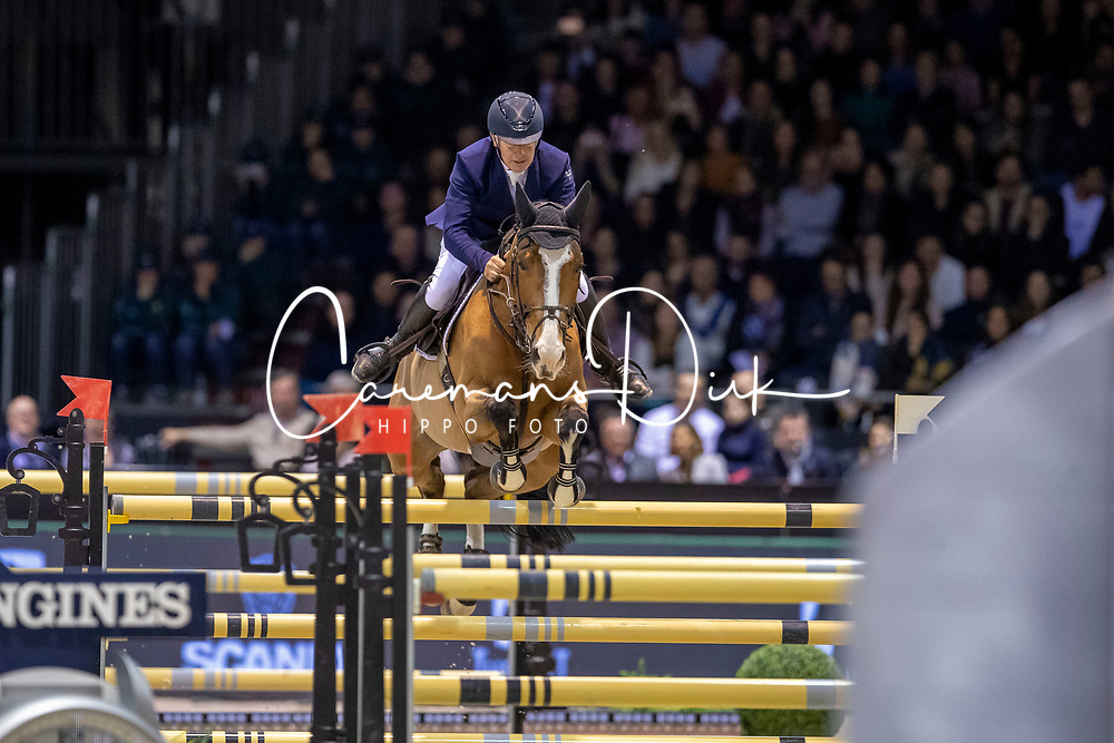 Bost Roger Yves, FRA, Sangria du Coty<br /> Jumping International de Bordeaux 2020<br /> © Hippo Foto - Dirk Caremans<br />  08/02/2020