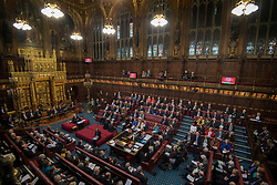 Embargoed to 0001 Monday November 19 File photo dated 20/02/18 of the House of Lords, which must axe 200 peers and act with urgency, a committee of MPs has demanded.