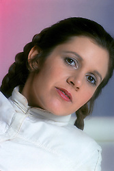 CARRIE FRANCES FISHER (October 21, 1956 - December 27, 2016) the actress best known as Star Wars' Princess Leia Organa, has died after suffering a heart attack. She was 60. Pictured: October 15, 1979 - London, United Kingdom, U.S. - Carrie FIsher as Princess Leia (Credit Image: © Lynn Goldsmith via ZUMA Press)