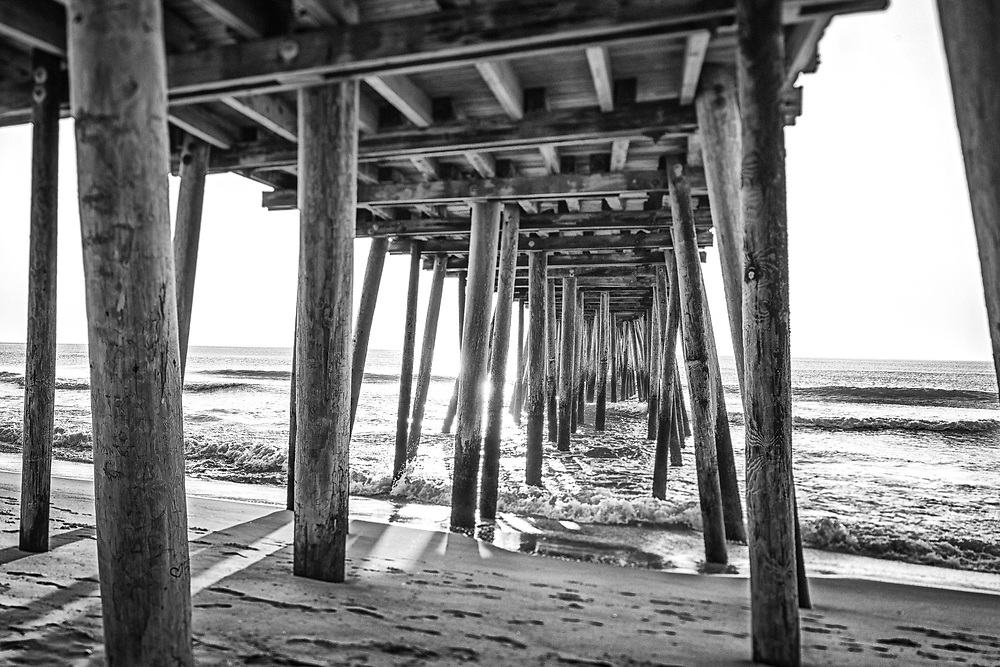 Limited edition photograph of the Virginia Beach pier.