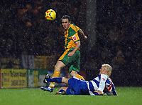 Photo: Ashley Pickering.<br />Norwich City v Queens Park Rangers. Coca Cola Championship. 30/12/2006.<br />Norwich's Lee Croft (yellow) and QPR's Mauro Milanese
