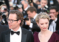 Guy Pearce, Mia Wasikowska attend the gala screening of Lawless at the 65th Cannes Film Festival. The screenplay for the film Lawless was written by Nick Cave and Directed by John Hillcoat. Saturday 19th May 2012 in Cannes Film Festival, France.
