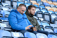 Fans in the Fratton End stand ahead of the EFL Sky Bet League 1 match between Portsmouth and Ipswich Town at Fratton Park, Portsmouth, England on 21 December 2019.