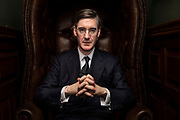Mcc0088261 . Sunday Telegraph<br /> <br /> DT News <br /> <br /> Chief Brexiteer and Conservative MP Jacob Ress-Mogg for Choppers Podcast .<br /> <br /> London 7 March  2019