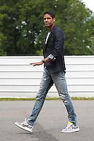 Raphael Varane - 01.06.2015 -Equipe de France - Arrivee des joueurs a Clairefontaine<br /> Photo : Andre Ferreira / Icon Sport