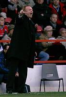 Photo: Richard Lane/Richard Lane Photography. Nottingham Forest v Birmingham City. Coca Cola Championship. 08/11/2008. Alex McLeish on the touchline