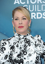 Christina Applegate at the 26th Annual Screen Actors Guild Awards held at the Shrine Auditorium in Los Angeles, USA on January 19, 2020.