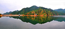 June 1, 2017 - Beijing, Beijing, China - Beijing, CHINA-May 18  2013: (EDITORIAL USE ONLY. CHINA OUT)..Huangsongyu Reservoir lies at the foot of Huangsongyu Great Wall in Huangsongyu Village in Pinggu District in Beijing. (Credit Image: © SIPA Asia via ZUMA Wire)