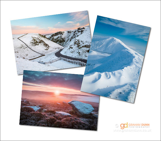 An assortment of seasonal greetings cards (examples shown here)