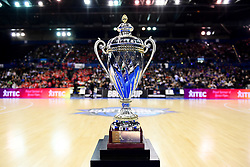 The BBL Cup - Photo mandatory by-line: Ryan Hiscott/JMP - 26/01/2020 - BASKETBALL - Arena Birmingham - Birmingham, England - Bristol Flyers v Worcester Wolves - British Basketball League Cup Final