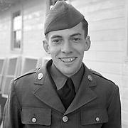 Al Mozell, Camp Upton, 1941, April