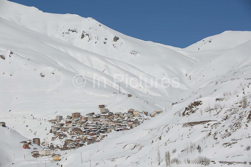 The Kackar Mountains on the 4th March 2019 near Ayder in Eastern Turkey.