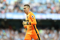 Football - Adrian of West Ham United during the match at the Etihad Stadium between Manchester City and West Ham United. <br /> <br /> 2016 / 2017 Premier League - Manchester City vs. West Ham United<br /> <br /> -- at The Etihad Stadium.<br /> <br /> COLORSPORT/LYNNE CAMERON
