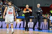 DESCRIZIONE : Eurolega Euroleague 2014/15 Gir.A Real Madrid - Dinamo Banco di Sardegna Sassari<br /> GIOCATORE : Sinisa Herceg<br /> CATEGORIA : Passi Arbitro Referee<br /> SQUADRA : Arbitro Referee<br /> EVENTO : Eurolega Euroleague 2014/2015<br /> GARA : Real Madrid - Dinamo Banco di Sardegna Sassari<br /> DATA : 05/11/2014<br /> SPORT : Pallacanestro <br /> AUTORE : Agenzia Ciamillo-Castoria / Luigi Canu<br /> Galleria : Eurolega Euroleague 2014/2015<br /> Fotonotizia : Eurolega Euroleague 2014/15 Gir.A Real Madrid - Dinamo Banco di Sardegna Sassari<br /> Predefinita :