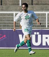 Fotball<br /> Saudi-Arabia / Saudi Arabia<br /> Foto: imago/Digitalsport<br /> NORWAY ONLY<br /> <br /> 08.09.2005  <br /> <br /> Yaser Al Kahtani (Saudi Arabien)