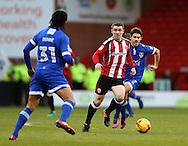 John Fleck of Sheffield Utd  during the English League One match at Bramall Lane Stadium, Sheffield. Picture date: December 26th, 2016. Pic Simon Bellis/Sportimage