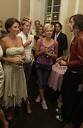 Sadie Frost, Claire Durkin, Simon Jackson and Beth Lewis. Franc Roddam and Frost French host a party to celebrate the publication of ' Margarita's Olive Press' by Rodney Shileds. 1 Greek St. Soho Sq. London. 15 September 2005.  ONE TIME USE ONLY - DO NOT ARCHIVE  © Copyright Photograph by Dafydd Jones 66 Stockwell Park Rd. London SW9 0DA Tel 020 7733 0108 www.dafjones.com