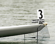 2005 FISA Rowing World Cup Munich,GERMANY. 17.06.2005; First race of the 2005 FISA World Cup Munich, the alignment boot lifts the CZE LW1X boat up, when the system was armed..Photo  Peter Spurrier. .email images@intersport-images...[Mandatory Credit Peter Spurrier/ Intersport Images] Rowing Course, Olympic Regatta Rowing Course, Munich, GERMANY