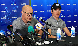 Team Sky's general manager Sir Dave Brailsford during the Team Sky Media Event in Saint-Mars-la-Reorthe, France.