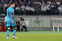 Leo Messi Barcelona<br /> Roma 16-09-2015 Stadio Olimpico <br /> Football Calcio Champions League 2015/2016 <br /> Group Stage - Group E AS Roma - Barcelona / AS Roma - Barcellona <br /> Foto Luca Pagliaricci / Insidefoto